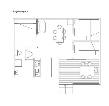 bungalow 6 plano